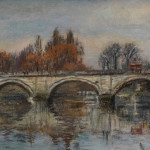 Richmond Bridge, Christian Furr Painting