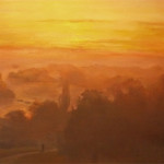 The Thames from Richmond Hill- Christian Furr - painting