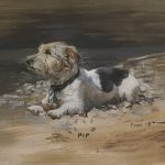 Dog, Pet portrait, pet portraits, painting, christian furr, jack russell, animal, animals, painting, paintings, dogs