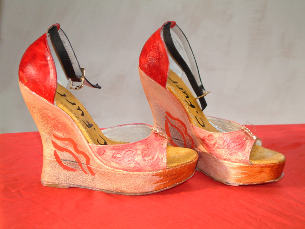 Baisse Moi - Painted de Havilland Shoes