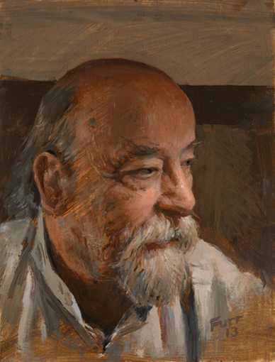Roy Ackerman, Christian Furr, portrait, painting